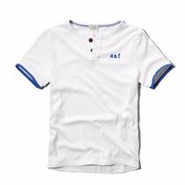 Abercrombie & Fitch - Camiseta Bordada - Infantil