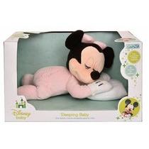 Peluche Sleeping Baby Minnie Luz Y Melodia Disney By Ditoys