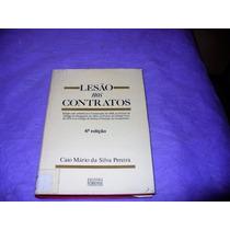 Livro Lesão Nos Contratos - Caio Mário Da Silva Pereira