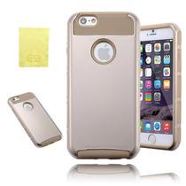 Iphone 6 Estuche Híbrido 2en1 6s Doble Capa Protección Armad