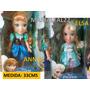 Princesa Disney Anna Y Elsa 100% Original Cad/uno 33cms