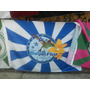 Bandeira Da Escola De Samba G.r.e.s Beija Flor De Nilópolis