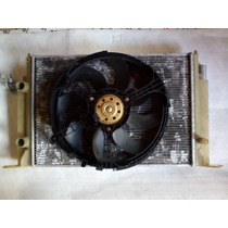 Conjunto Radiador Ventoinha Condensador Defletor Fiat Stilo