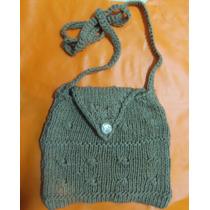 Set 3 Carteritas Tejida A Crochet, El Regalo Perfect
