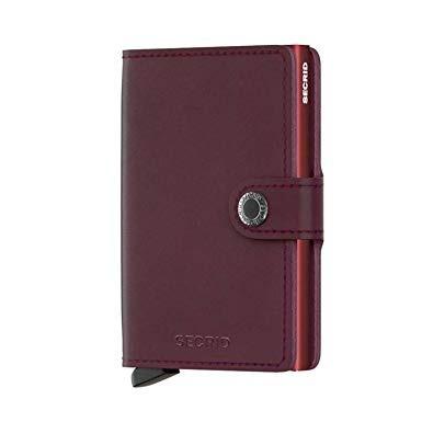 301e2d326 Secrid - Secrid Mini Wallet Original Genuino Bordeaux Leath ...