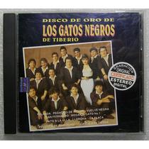 Los Gatos Negros De Tiberio. Disco De Oro. Cd Orfeon 1997