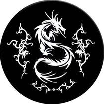 Capa De Estepe Dragão Cadeado+aço Aro13-15 Ecosport Crossfox