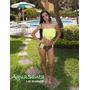 Trajes De Baño Aguasanta. Modelos De Flecos Strapless Bikini