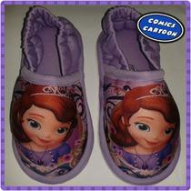 Babuchas Pantuflas Princesa Sofia Intensamente Frozen Disney