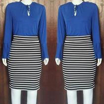 Conjunto Moda Evangelica Social Secretaria Saia+blusa