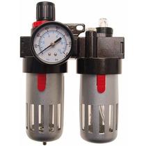 Filtro/lubricador De Aire Con Regulador De Presión Art 8603