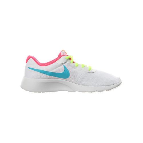 new style 24055 94d34 Nike Tanjun Gs - Blanco Con Rosa 384-100 -  890.00 en Mercad