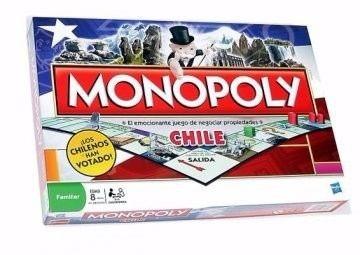Juego Monopoly Chile Hasbro Envio Gratis Diverti 19 990 En