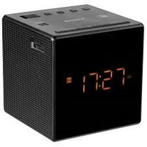 Sony Radio Reloj Despertador Icfc1 -reacondicionado Negro