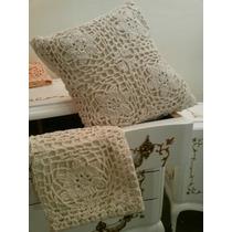 Bellos Almohadones Realizados Al Crochet