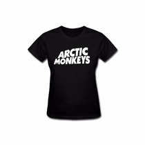 Baby Look Feminina Arctic Monkeys Camiseta Rock Banda Camisa