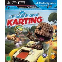 Little Big Planet Karting Ps3 Portugues Lacrado Frete 10,00