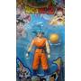 Muñeco De Dragon Ball Z Goku Fase Dios - Articulado 13 Cm