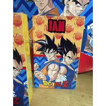Bolsitas Golosineras Personalizadas Cotillon Dragon Ball X20