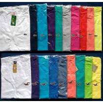 10 Camisetas Camisas Gola V Basicas Várias Marcas Atacado