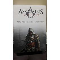 Box Coleção Assassin Creed 1-3 Livros Novos