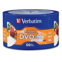 Disco Dvd-r Verbatim Dvd-r, Dvd-r, 50, 120 Min