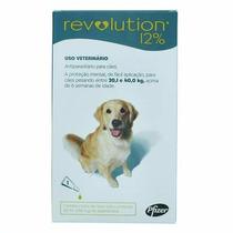Anti Pulgas Revolution Para Cães 20 A 40 Kg