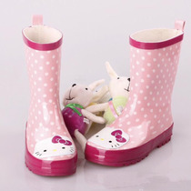 Botas De Lluvia Hello Kitty Para Niñas! Stock En Lima