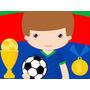 Kit Imprimible 1 Futbol Candy Bar Diseña Tarjetas Y Mas