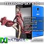 Teléfono Android 3g Sky 4.0d 4 Camara 5mp Dualcore + Forro