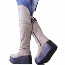 Botas Bucaneras Caña Alta Modelo Dayla 2 De Shoes Bayres