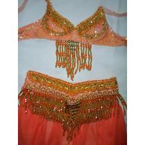 Completa Roupa Dança Ventre Infantil 110,00 Atelier Sonia