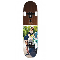 Skateboard Patineta Tabla Gas Girl 31.5-7.75 Miller Division
