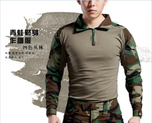 87e8217f67d0d Tactical Combat Shirt Woodland Source · Combat Shirt Woodland Camisa De  Combate Para Airsoft M ch 549 00