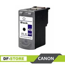 Cartucho Canon 40 Negro Compatible Nuevo Sellado Garantía