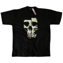 Remera Estampada Calavera Skull Hardcore Pop Heavy Dark