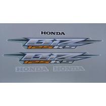 Kit Adesivos Honda Biz 125 Ks 2006 Prata