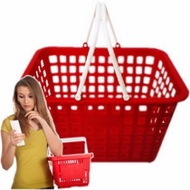 Cesta De Mano P Tiendas Autoservicio Cesto Canasta Plastico