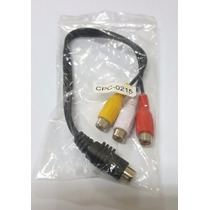 Cable Super Video 4 Pines A 3 Rca
