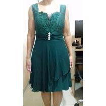 Vestido Verde Musgo Festa Formatura Madrinha Casamento