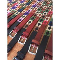 Cinturones Huaso Suela Bordada Cainva