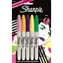 Marcadores Sharpie 80´s Glam Pasteles Pack X5 . Ofidb. Ccs