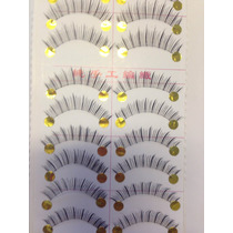 Cilios Postiços 112 Base Transparente - Olhos De Boneca