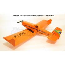 Kit Aeromodelo Ipanema 140cm Eletrico Ou Glow Isopor Depron