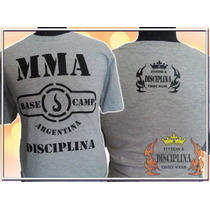 Remera Mma Base Camp Argentina - Disciplina