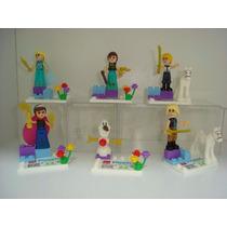 Kit Festas Frozen - Disney - Lego - Bonecos Elsa Anna Olaf