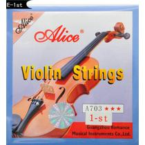 Cuerda Mi 1era Para Violin Alice A703