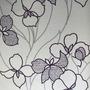 800307 - Floral (Bege/ Lilás Acinzentado/ Roxo)