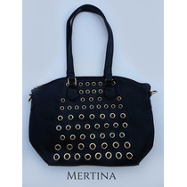 Cartera Simil Cuero Glam Punk | Mertina