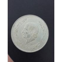 Moneda Antigüa Colecionable De Plata 5 Pesos 1953 Hidalgo